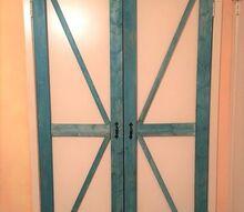 faux barn doors