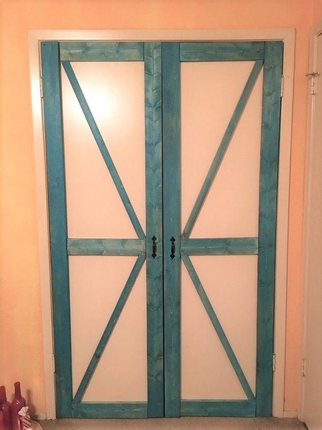 Faux Barn Doors Hometalk