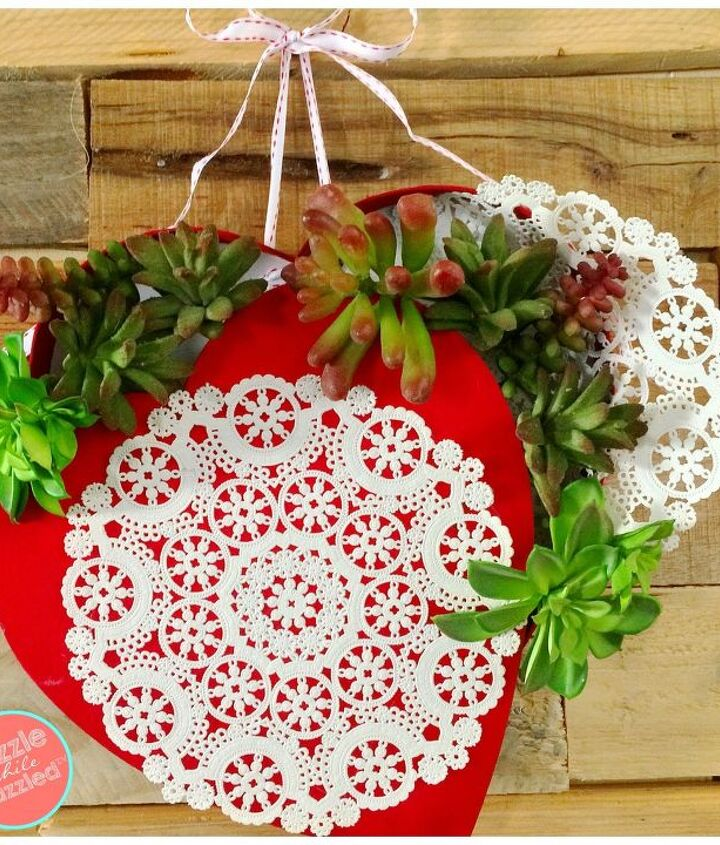 s 23 valentine s day diy ideas that you don t want to miss, Heart Box Flower Wreath