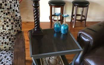 stick with these end tables