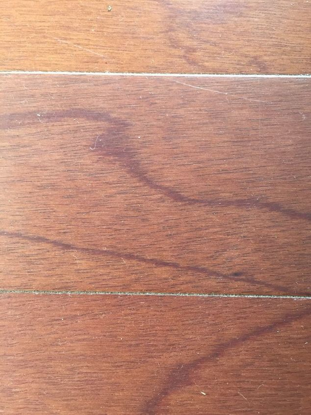 q how can i clean my hardwood floors in foyer