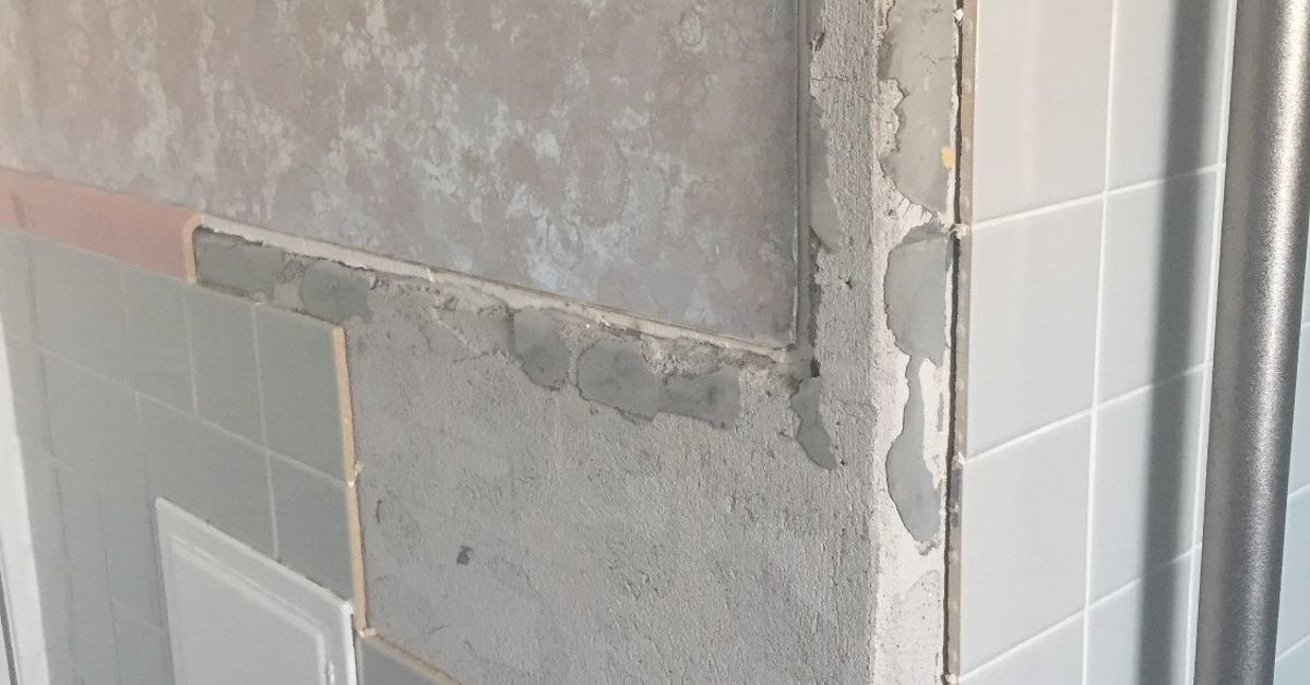 Can you replace missing bathroom wall tile and can the color be ...
