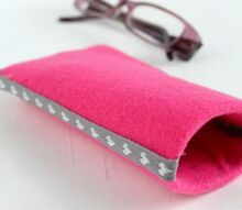 diy eyeglasses case with paper tube