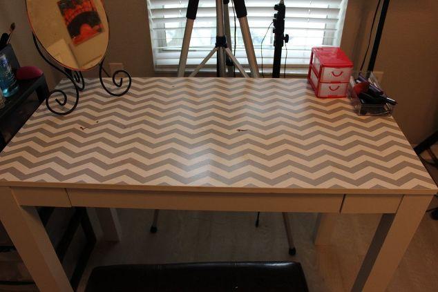 Diy Vanity Desk Makeover Hometalk