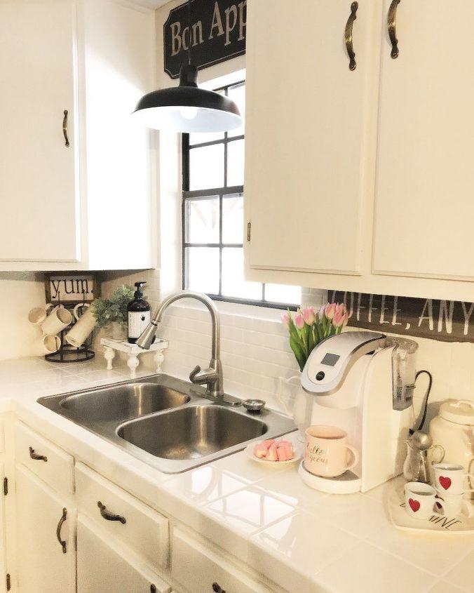 kitchen makeover countertops