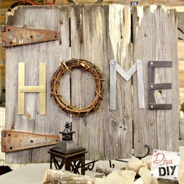 s 15 amazing things you can do with paint stirrers, Industrial Letters