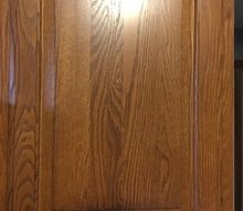 q what is the best way to clean off 25 year old oak cupboards