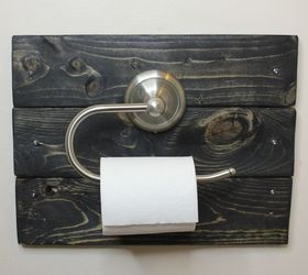 How To Cover A Hole With A Farmhouse Toilet Paper Holder 2 Lumber Hometalk