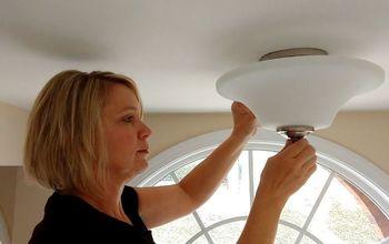 Replacing a Ceiling Light Fixture