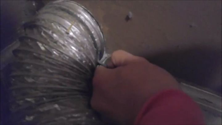 cleaning your dryer duct