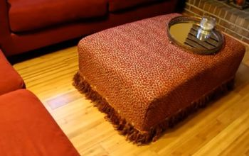 Upcycle Your Ottoman