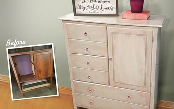 Blushing Pink Dresser