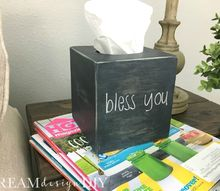 how to make a tissue box cover