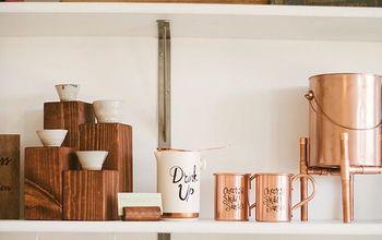 Easy Industrial Wooden Store Display