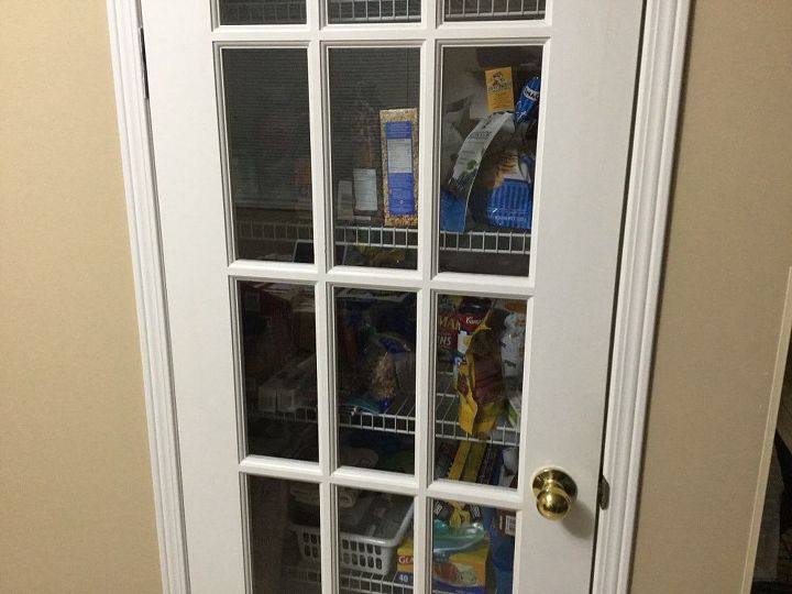 q pantry door with 15 glass panels