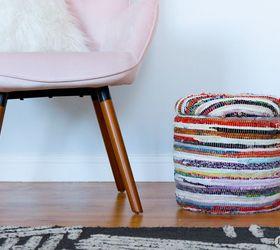 diy storage footstool & DIY Storage Footstool USING A BUCKET!   Hometalk