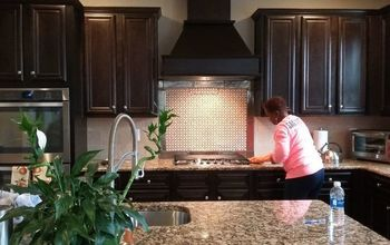 Builder Grade Backsplash