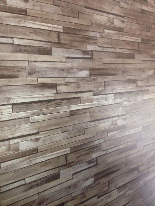 faux it stone wall wallpaper