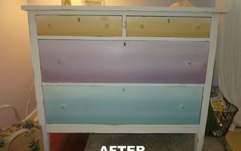 Ombre Drawer Dresser