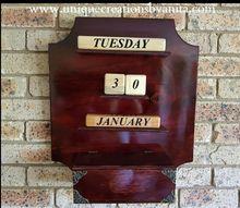how to make a wall perpetual calendar, Perpetual Calendar