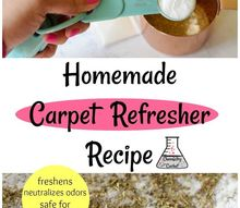 two ingredient homemade carpet refresher recipe