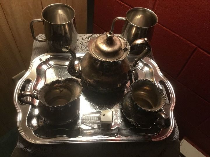 How Do You Clean Silver Tea Set That Is Tranish Hometalk