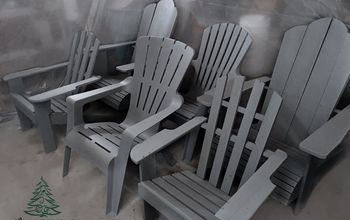 adirondack chairs cloned for christmas