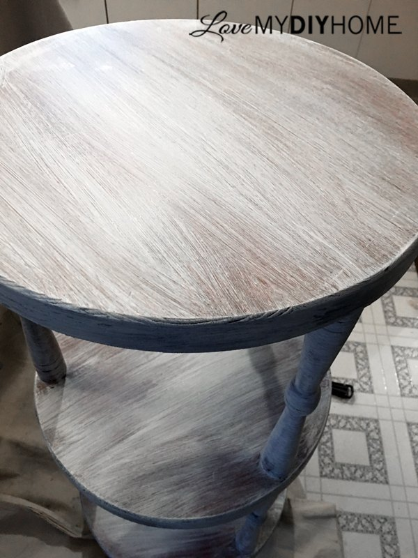 an uninteresting plant table turns into a beauty