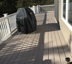 Paved Patio Is Solid And I Would Expect Less Maintenance And It To Be  Longer Lasting. It Would Be My Preference Based On This 2015 Deck  Experience And My ...