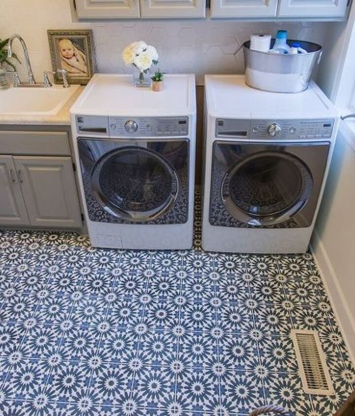 how to lay cement tile flooring