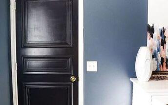 diy paneled interior door