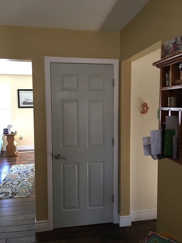 what is best to do if painting interior doors paint just the