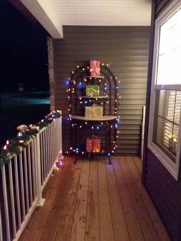 q outdoor shelf ideas