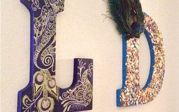 DIY Decorative Wall Art Letters