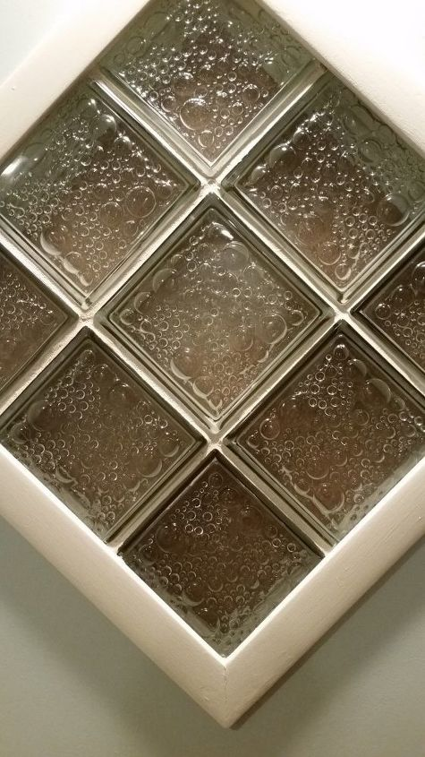 q how to cover glass blocks to stop light coming into bedroom at night
