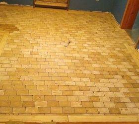 Diy An End Grain Wood Floor Hometalk