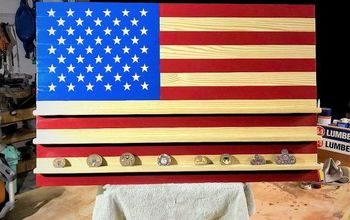 Patriotic DIY American Flag Build (Easy as Red, White, and