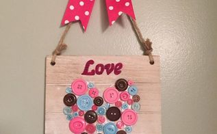 easy to do dollar store valentines decoration