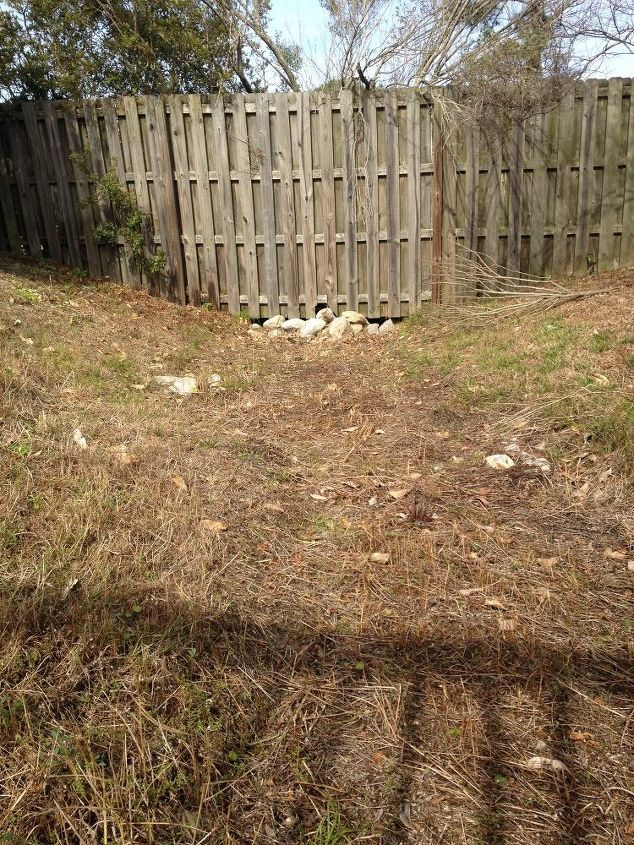 q easement ditch ideas to improve appearance cannot cover