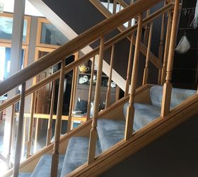 My Wooden Stair Railings Are Spaced Too Far Apart. How Can I Fix Them? |  Hometalk