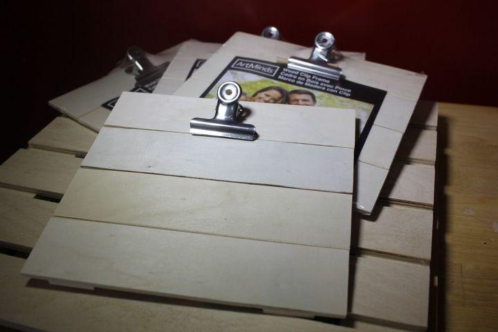 $1 Farmhouse Wood Wash Frames - Get the Shiplap Look on a Budget ...