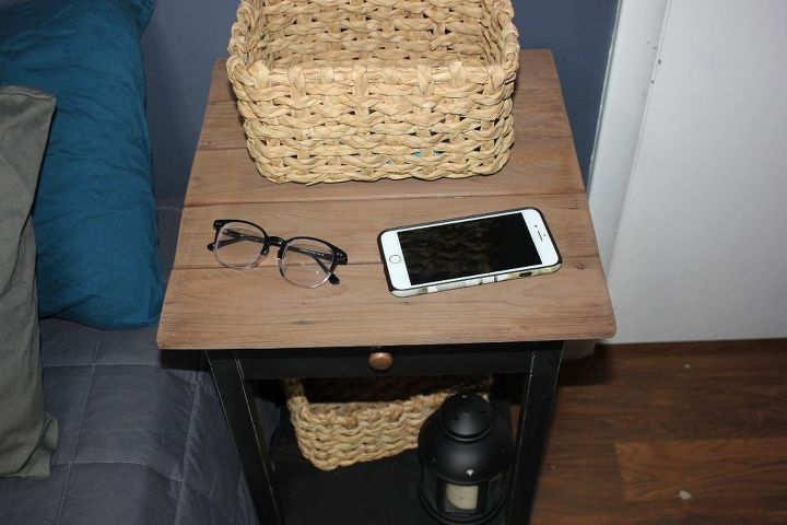 easy 3 nightstand transformation how to get that farmhouse look