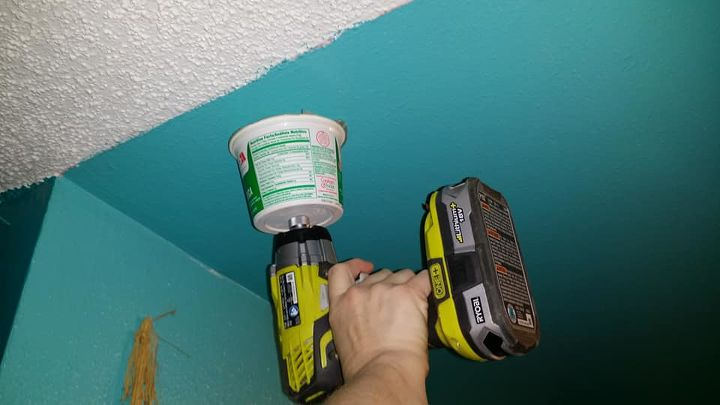 less mess ceiling hook installation