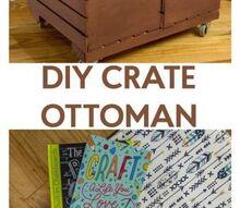diy crate ottoman