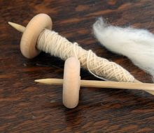 how to make inexpensive drop spindles at home