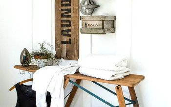 Hate Your Dreary Laundry Room? Try These 13 Cute Ideas