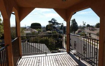 My New Balcony Transformed Into Art Studio