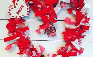 valentines day grapevine heart shabby chic wreath