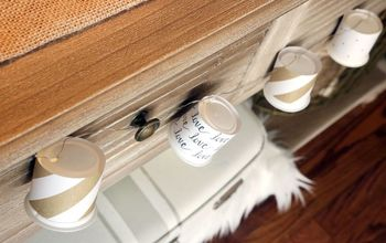 neutral valentine s day k cup garland