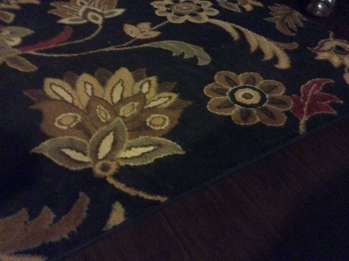 entire 8x10 black floral area rug white
